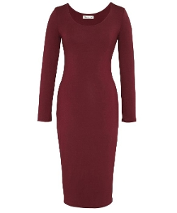 Olive + Oak  - Bodycon Midi Dress