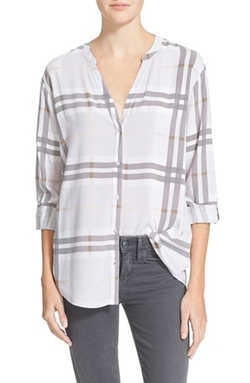 Soft Joie - Dane Plaid Shirt
