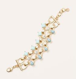 Loft - Cast Stone Link Bracelet