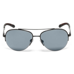 Dockers - Semi-Rimless Aviator Sunglasses