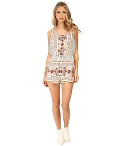 Minkpink  - Space Cowboys Playsuit