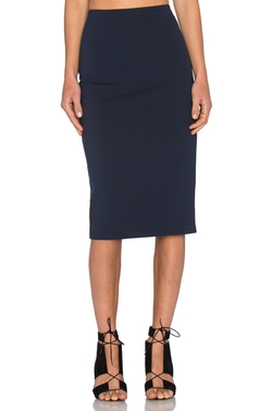 T by Alexander Wang - Ponte Pencil Skirt