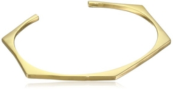 Gorjana - Gold-Plated Hexagon-Shape Cuff Bracelet