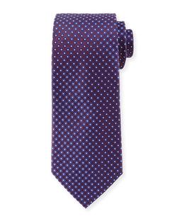 Armani Collezioni  - Dot-Print Silk Tie