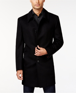 Kenneth Cole Reaction - Solid Slim-Fit Overcoat