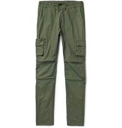 John Elliott - Tapered Cotton Cargo Trousers