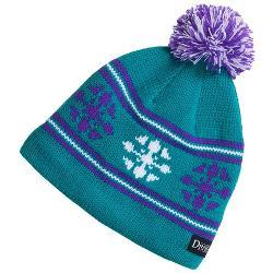 Snow Dragons  - Knit Beanie Hat with Pom