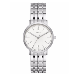 DKNY - Dress Case Stainless Steel Bracelet Watch