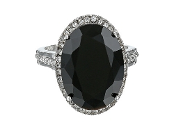 Guess - Large Onyx Stone Ring