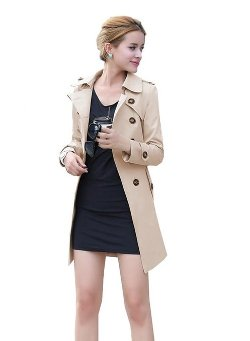Lovaru - Belted Long Trench Coat