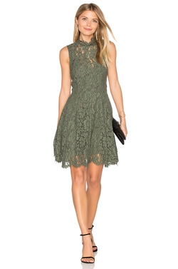 Keepsake  - Porcelain Lace Mini Dress