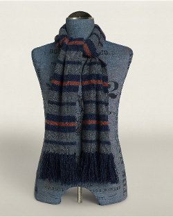 Ralph Lauren - Striped Wool Scarf