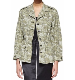 ATM  - Camo Field Drawstring-Waist Jacket