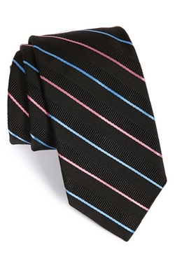 Robert Talbott - Stripe Silk & Cotton Tie