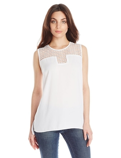 Vince Camuto - Sleeveless Blouse