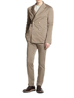 Atelier Scotch  - Double-Breasted Cotton Suit
