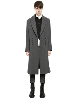 Ann Demeulemeester - Double Breasted Wool Coat