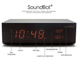 SoundBot - Multi-Function Alarm Clock