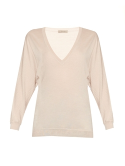 Bottega Veneta - V-Neck Wool-Knit Sweater
