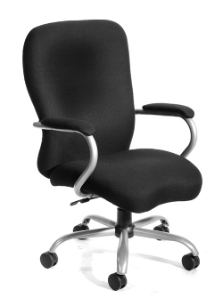Boss Office Products - Aluminum Metal Magnet Office Chair