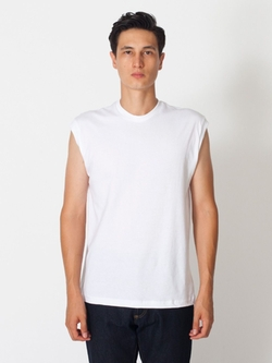 American Apparel - Fine Jersey Muscle T-Shirt