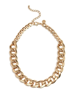 G by Guess - Oversized Chain Necklace