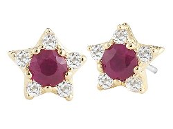 Elizabeth and James  - Bassa Stud Earring