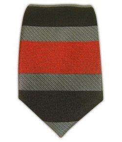The Tie Bar - Woven Silk Horizontal Stripe