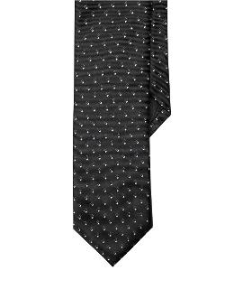 Black Brown - 1826 Slim Fit Polka Dot Neat Tie