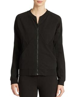 DKNY Jeans - Mesh Inset Bomber Jacket