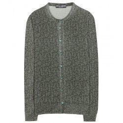 Dolce & Gabbana  - Printed Wool Cardigan