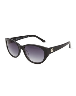 Oscar De La Renta  - Round Cat-Eye Sunglasses