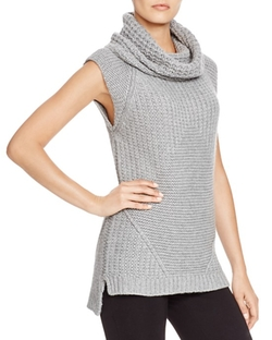 Dylan  - Sleeveless Chunky Cowl Sweater
