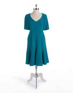 Jones New York  - Gored A-Line Dress