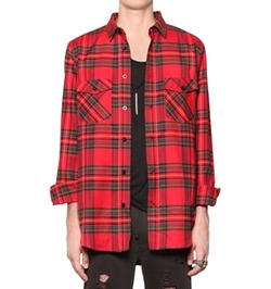 Les (Art)ists - Plaid Light Cotton Shirt