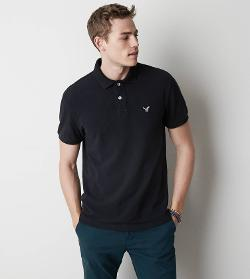 American Eagle Outfitters - AEO Solid Polo