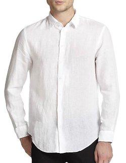 Armani Collezioni - Linen Sportshirt