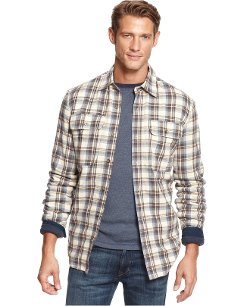 Boston Traders - Fleece-Lined Plaid Shirt Jacket