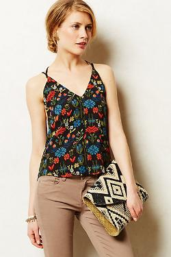 Anthropologie - Duskflower Tank Top
