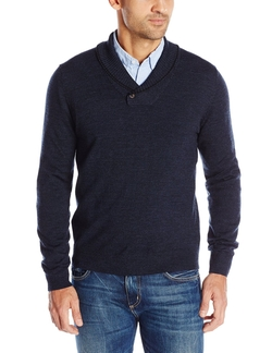 C89 - Button Shawl Pullover