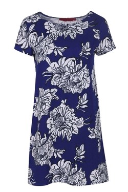 Boohoo  - Yasmin Floral Printed Shift Dress