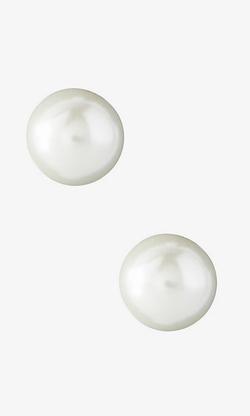 Express - Faux Pearl Stud Earrings
