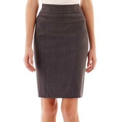 Hollywould - Perfect-Fit Waistband Pencil Skirt