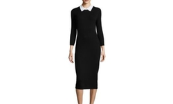 Trina Turk - Bookish Collared Sweater Dress