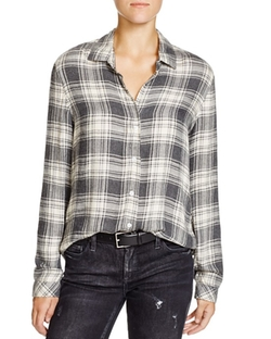 Bella Dahl  - Plaid Button Down Shirt