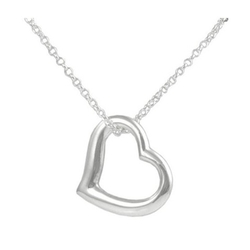 Target - Sterling Silver Heart Necklace