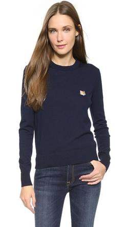 Maison Kitsune - Crew Neck Pullover