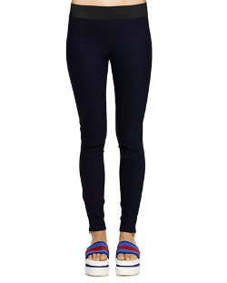 Stella McCartney   - Zipper-Cuff Pull-On Leggings