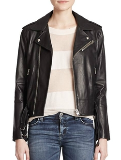 Iro - Galaxy Leather Moto Jacket