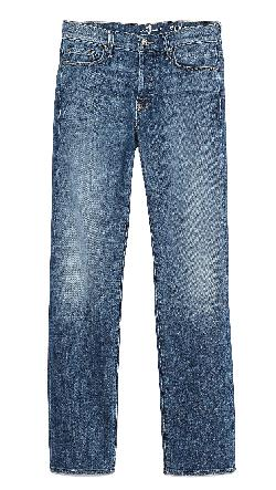 7 For All Mankind  - Standard Classic Straight Fit Jeans